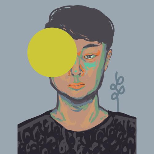 Self Portrait (2019). Medium - Digital.
