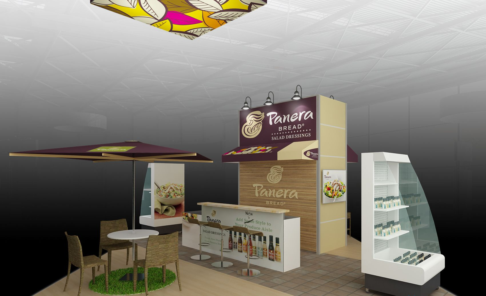 Past PMA Fresh Booth Rendering