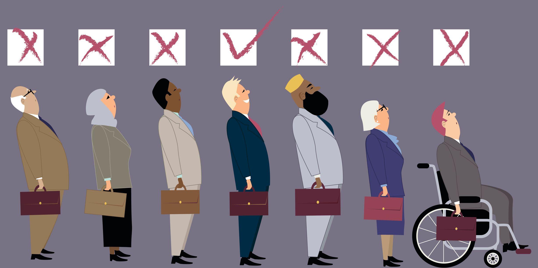 Buďte při náboru fér. Netřiďte kandidáty podle zdraví nebo národnosti