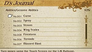 Bravely Default: Vampire Genome Ability Locations Guide