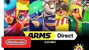 Nintendo Direct Recap (5/17): ARMS Free Updates, Splatoon 2