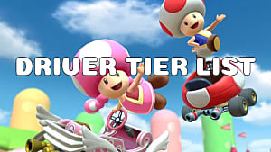 Mario Kart Tour Drivers Best Character Tier List Mario Kart Tour