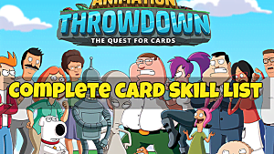 Best Animation Throwdown defense cards guide | Animation Throwdown