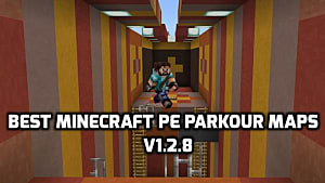 7 Totally Insane Minecraft PE Parkour Maps for 1 2 8