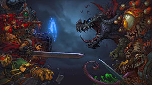 Chasers Legion Sux Roblox Battle Chasers Nightwar Post Modern Rpg Battle Chasers Nightwar