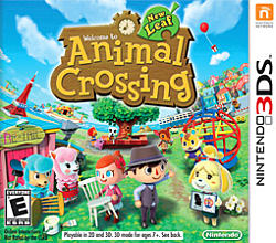 Animal Crossing: New Leaf Box Art