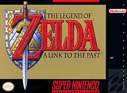 The Legend of Zelda: A Link to the Past Box Art