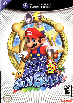 Super Mario Sunshine Box Art