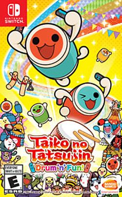 Taiko No Tatsujin: Drum 'n' Fun Box Art