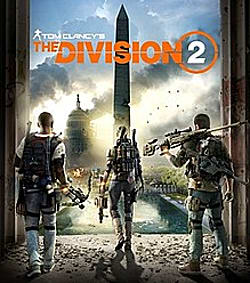 Tom Clancy's The Division 2 Box Art