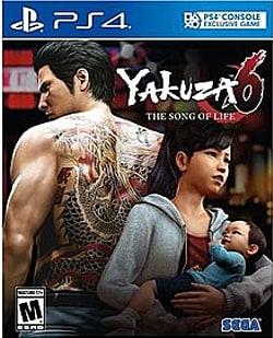 Yakuza 6 Box Art