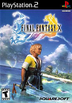 Final Fantasy X Box Art