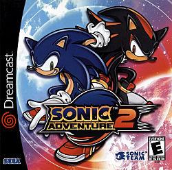 Sonic Adventure 2 Box Art