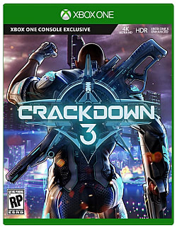 Crackdown 3 Box Art