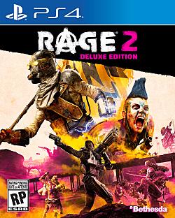 Rage 2 Box Art