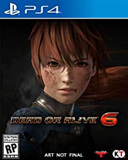 Dead or Alive 6 Box Art