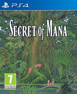 Secret of Mana Box Art