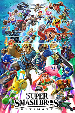 Super Smash Bros. Ultimate Box Art