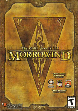 The Elder Scrolls III: Morrowind Box Art