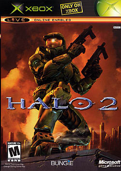 Halo 2 Box Art