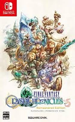 Final Fantasy: Crystal Chronicles Remastered Edition Box Art
