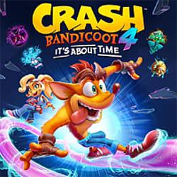 Crash Bandicoot 4: It's About Time Box Art