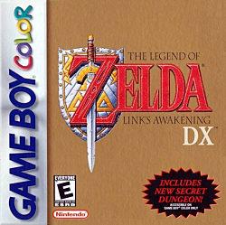 The Legend of Zelda Link's Awakening DX Box Art