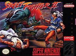 Street Fighter II Box Art