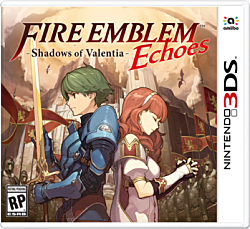 Fire Emblem: Echoes - Shadows of Valentia Box Art