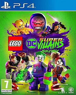 LEGO DC Super-Villains Box Art