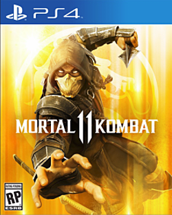 Mortal Kombat 11 Box Art