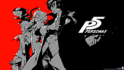 Persona 5 Box Art