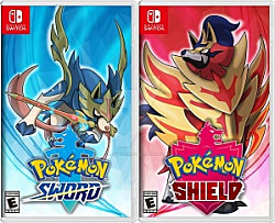 Pokemon Sword and Shield Box Art