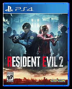 Resident Evil 2 (2019) Box Art