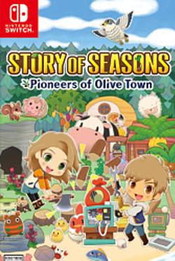 Story of Seasons: Pioneers of Olive Town Box Art