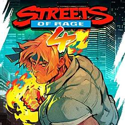 Streets of Rage 4 Box Art