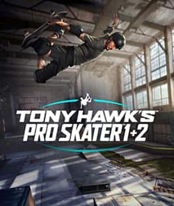 Tony Hawk's Pro Skater 1+2 Remastered Box Art