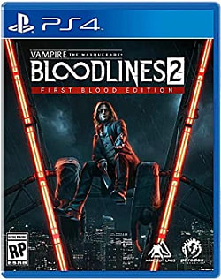 Vampire: the Masquerade Bloodlines 2 Box Art