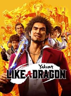 Yakuza: Like A Dragon Box Art