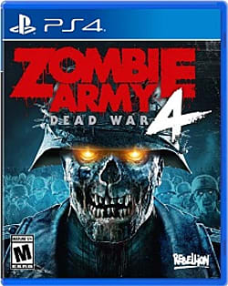 Zombie Army 4 Dead War Box Art