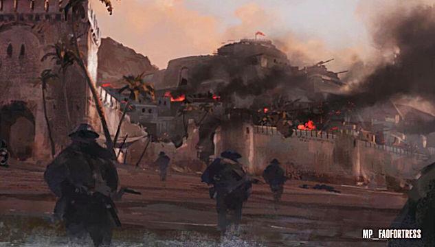 battlefield 1 Battle of Fao Fortress Battlefield 1