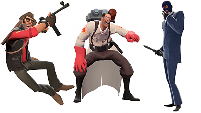Team Fortress 2 support classes