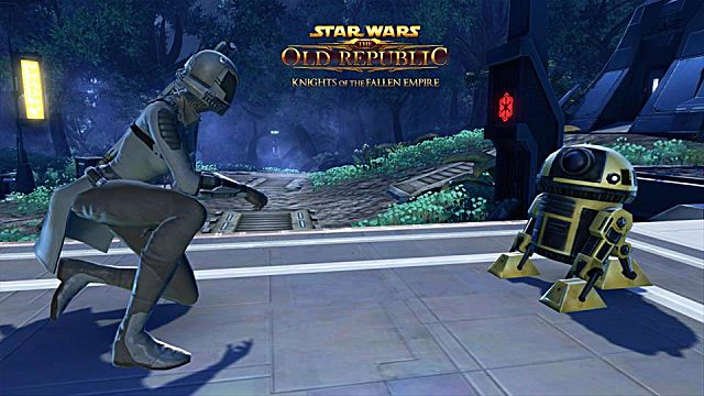 That could be a droid you're looking for, if you log on and play SWTOR anytime before May 4!