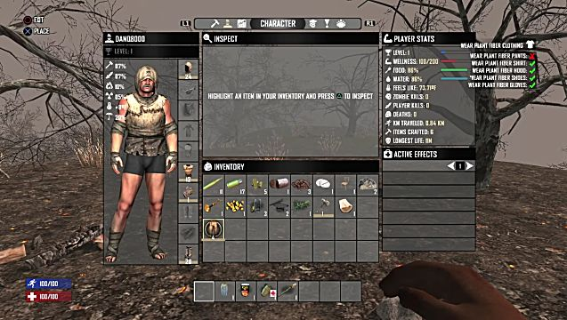7 Days to Die character customization