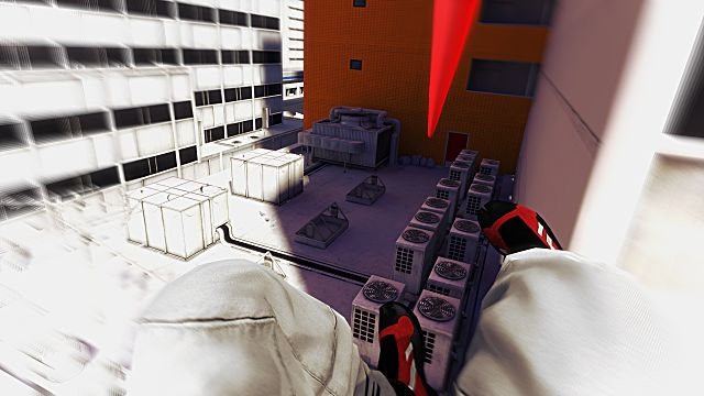 mirror's edge mirrors dice ea Zip line wire
