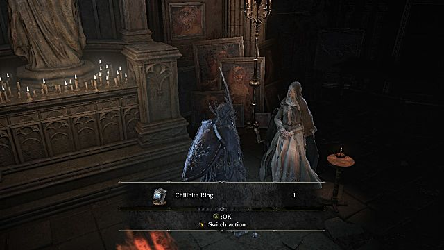 Chillbite Ring Dark Souls 3 Ashes of Ariandel Guide How to find all new Weapons Armor and Spells