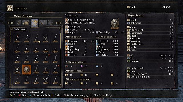 Valorheart Dark Souls 3 Ashes of Ariandel Guide How to find all new Weapons Armor and Spells