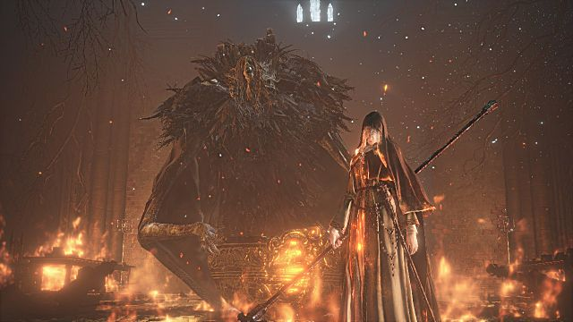 Friede's Greath Scythe Rose of Ariandel Dark Souls 3 Ashes of Ariandel Guide How to find all new Weapons Armor and Spells