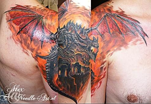 25 World Of Warcraft Tattoos That Will Blow Your Mind World Of Warcraft