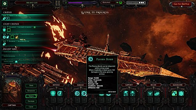 Battlefleet Gothic Armada shipyard